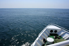Sea and ship royalty free stock images
