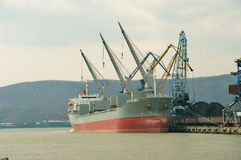 The sea ship Royalty Free Stock Photography