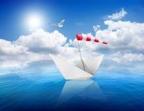 Sea and ship Royalty Free Stock Photos