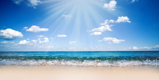 Sea Shore Royalty Free Stock Photo