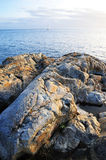 Sea and shore Royalty Free Stock Images