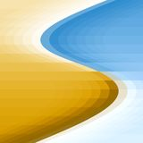 Sea shore background. Sea and shore colors abstract background Royalty Free Stock Photo