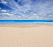 Sea shore with blue sky Royalty Free Stock Photo