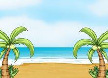 A sea shore Stock Image