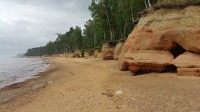 Sea shore stock photo
