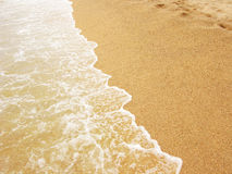 Sea shore and sandy beach royalty free stock photos