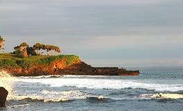 Sea shore scenery Stock Photography