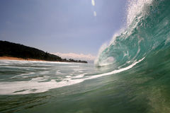 Sea shore waves royalty free stock images