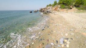 Sea and Shoreline stock video