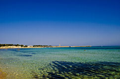 Sea of Sicily Royalty Free Stock Images