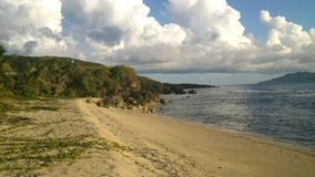 Sea side of Batanes Royalty Free Stock Images