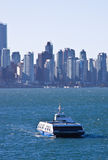 Sea side ferry city Vancouver Stock Images