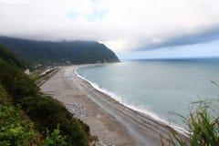 Sea side of Hualian, Taiwan Royalty Free Stock Photo