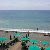 Sea Side. In Italy Beach Stock Image