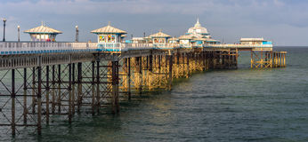 Sea side pier Royalty Free Stock Images