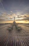 Sea side. Seaside Pier in South Wales Royalty Free Stock Photo