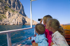 Sea sightseeing Royalty Free Stock Images