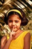 Sea silencioso ahora Foto de archivo libre de regalías