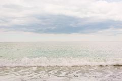 Sea simple view. Royalty Free Stock Photography