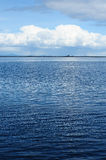Sea and sky. Seascape in whidbey island, washington, usa Stock Photo