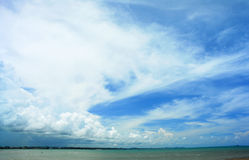 Sea and sky . Stock Photography