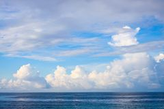 Sea and sky Royalty Free Stock Photography