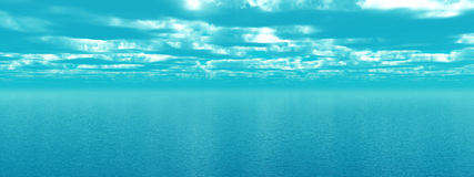 Sea sky Royalty Free Stock Photography