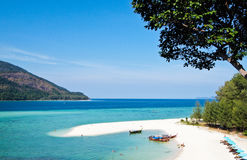 Sea and Sky. Beautiful Sea view in Thailand Royalty Free Stock Photos