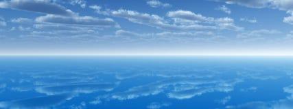Sea sky Stock Photos