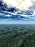 Sea sky Royalty Free Stock Photos