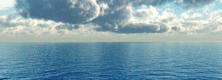 Sea sky Stock Image