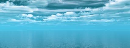 Sea sky Stock Photo