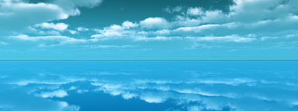 Sea sky Royalty Free Stock Images