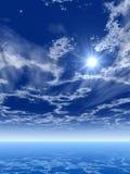 Sea sky Royalty Free Stock Photo