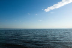 Sea and sky. Infinity sea and sky landscape Royalty Free Stock Image