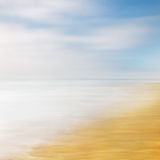 Sea Sky Abstract Royalty Free Stock Photo