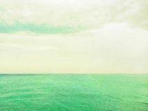 Sea and sky artistic background Royalty Free Stock Photos