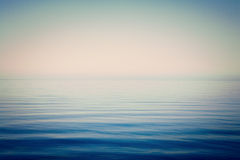 Sea and Sky Background Very Calm Royalty Free Stock Images