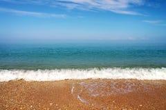 Sea and sky. Beach. Stock Photos