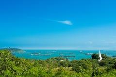 Sea and sky. Beautiful sea and sky in the afternoon sunday wonderful sky wonderful sea Stock Image