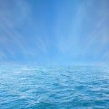 Sea and sky. Royalty Free Stock Photo