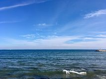 Sea and sky royalty free stock image