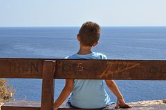Sea, Sky, Body Of Water, Horizon stock photos