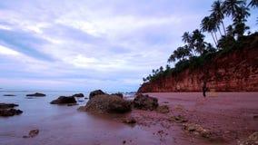 Sea sky cliffs Stock Photography
