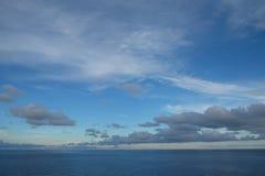 Sea sky and clound. Blue sky. sun rise Stock Images