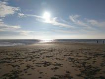 Sea, Sky, Horizon, Beach stock image