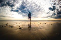 Sea, Sky, Horizon, Cloud Stock Images