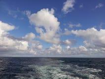 Sea, Sky, Horizon, Cloud royalty free stock photography