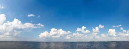 Sea and the sky Royalty Free Stock Image