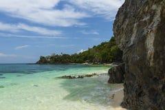 Sea and sky of Khai island at Tarutao national park Royalty Free Stock Image